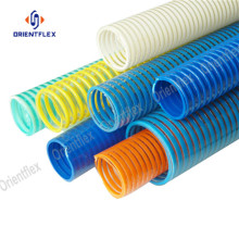 Flexible spiral high compression grit vacuum hose