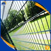 Low price pvc coated double wire fence