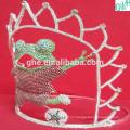 Прекрасное движение короны, корона из пластиковой тиары