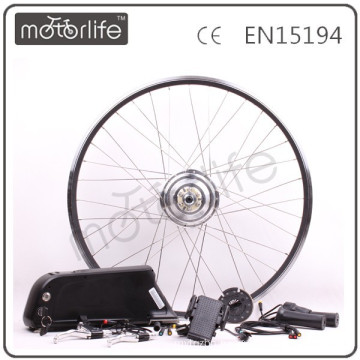 MOTORLIFE lastest 36V 350W smart phone bikes electric bicycles kits