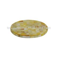 Китай лучший циновка чашки оболочки 2014 Мода чашки мат
