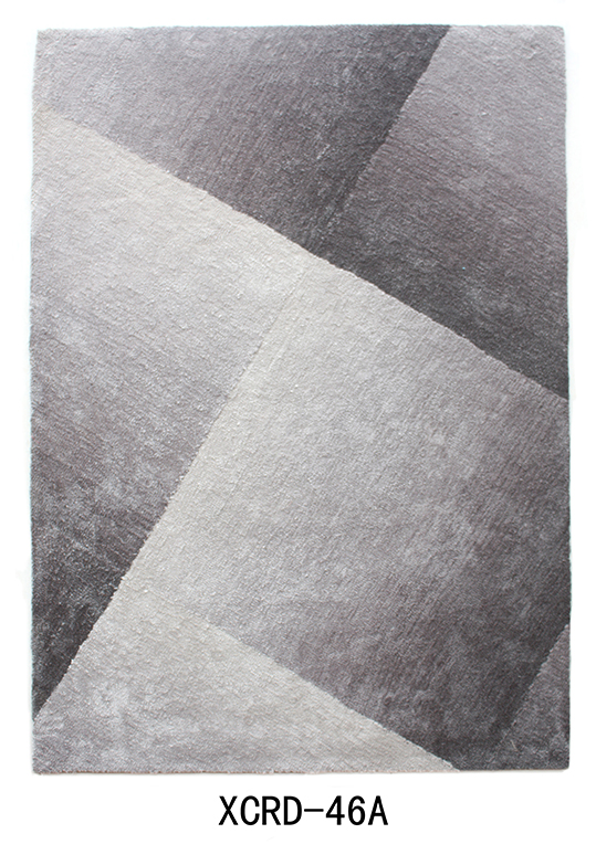 Shaggy Gradational Design Carpet
