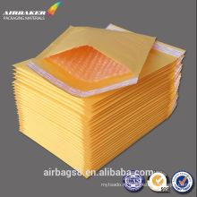 Подгонять Оптовая коричневая крафт бумаги конверт дешевые пузырь конвертов