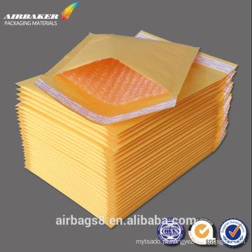 Customizado por atacado embalagem marrom papel envelope bolha barato envelopes