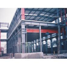 Estructura de acero ligero para construcción de edificios / estructura de estacionamiento de acero