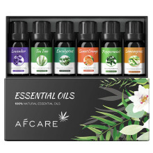 Naturals Top 8 Essential Oil Set 100% Pure of The Highest Quality Essential Oils Peppermint, Tea Tree, Rosemary, Orange Cherry Blossom Essential Oil