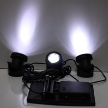 RGB / Cool White Solar Garden Light