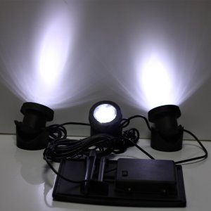RGB/Cool White Solar Garden Light
