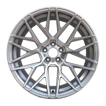 Aftermarket Custom Wheel 18x9 5x114.3 Zilver