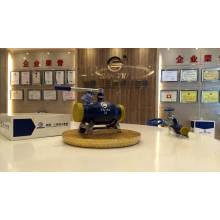 fabricante de válvulas de esfera de extremidade totalmente soldada