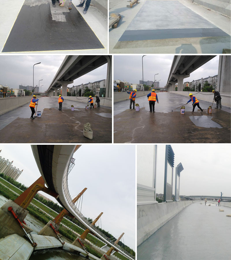 Bridge deck abutment waterproofing systems