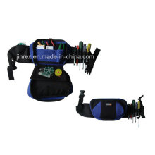 Functional and Foldable Waist Tool Bag with Flap