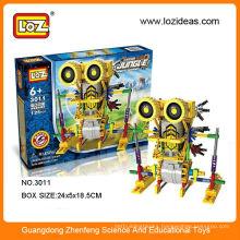 LOZ plastic electric block mechanical robot