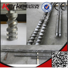 twin screw extruder screw element and barrel