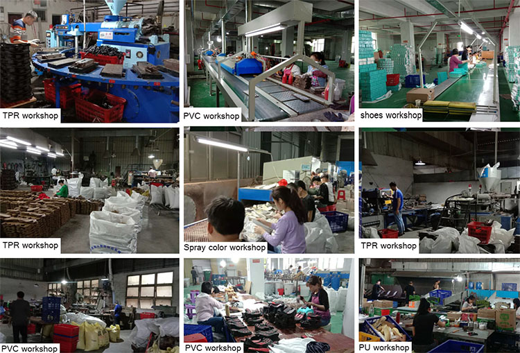Picture of outsole factory