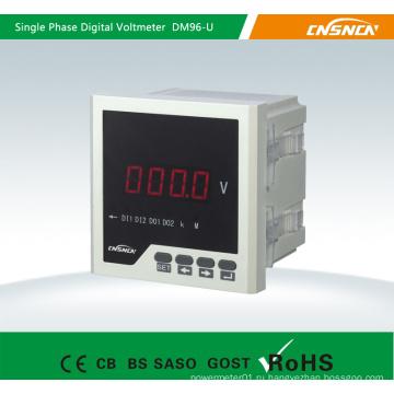Светодиодный и жидкокристаллический дисплей Трехфазный цифровой измеритель напряжения с сигналом тревоги, вольтметр мощности