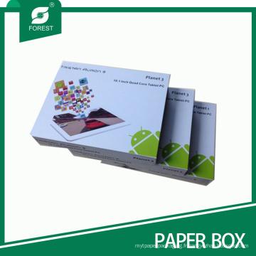 Boîte d'emballage de PC de comprimé de dispositif de Recycable et de matériel de papier