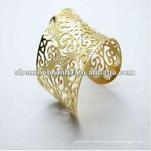 Gold Armbänder neuesten Designs Edelstahl Armreif für Frauen Armbänder & Armreifen