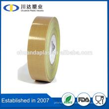 No hay diseño de impresión y sellado de bolsa Use PTFE teflón recubierto de tela de fibra de vidrio cinta de tela