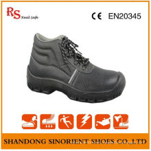 Best Selling Black Leather Safety Shoes S3 Src RS004