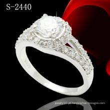 Moda jóias 925 anel de jóias de prata esterlina