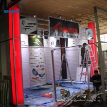 Feira de exposições de stands de exposição portátil exibe cabines para feiras