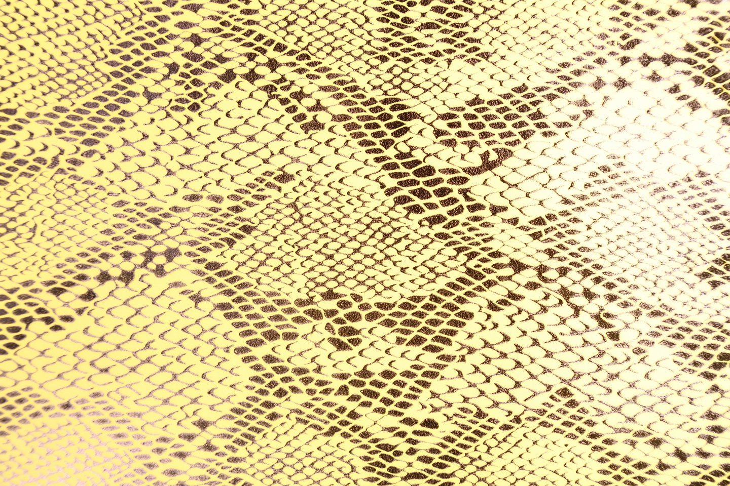 Snake Skin Print Pu Leather-Edit