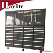 Gabinete usado de la caja de herramientas de la carretilla grande del metal de Qingdao para las ventas