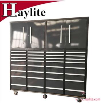 O armário grande da caixa de ferramentas do trole do metal de Qingdao usou-se para vendas