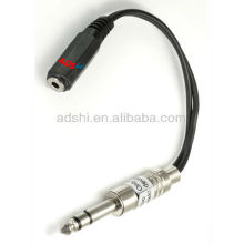 2013 ADShi spring season adaptors wire for tattoo clip cord with 6.35mm plugs