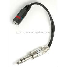 2013 Adaptador de estação de primavera ADShi fio para cabo de grampo de tatuagem com 6,35mm plugs