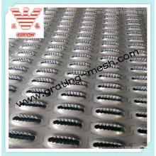 Placa antiderrapante de acero inoxidable / Placa antiderrapante de aluminio