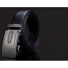 2014 automatic buckle men leather belts mens shiny belts