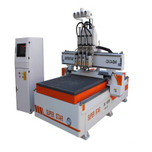 CNC router 1325 four spindle CNC router price