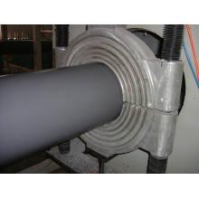 Tubo de gran diámetro plástico que hace la máquina