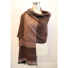 Леди мода вискоза Жаккардовые бахромой платок (YKY4416-2)
