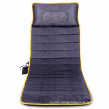 Electric Full Body Kneading Vibrating and Heating Shiatsu Massage Mattress Neck Back and Buttock Massage Cushion