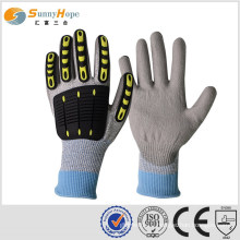 sunnyhope TPR joker impact gloves, knitted with HPPE