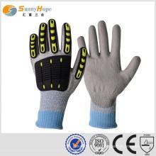 Sunnyhope TPR шутливые ударные перчатки, вязаные с HPPE