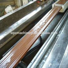 WPC Bois (bois de riz / paille / bois) plastique (PP / PE / PVC) machine composite / WPC machine / wpc decking machine