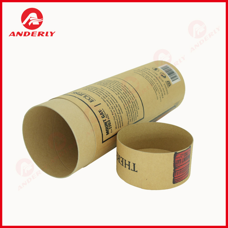 Luxury Customized Red Wine Packaging Paper Tube