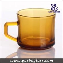 150ml Solid Amber Glassware Mug with Handle