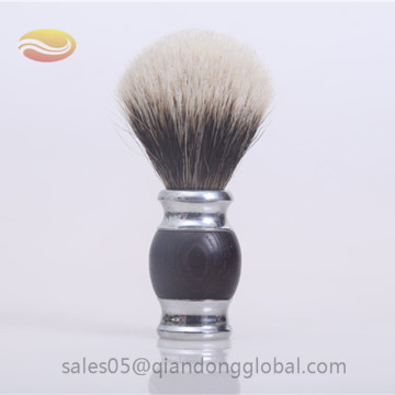 Shaving Brush with Two Band Badger Hair Knot