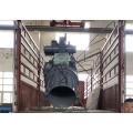 Guindaste giratório de braço único para barco de resgate rápido
