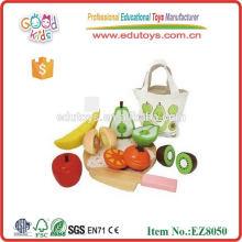Magnetische Frucht-Schnitt-Spielwaren für Kinder