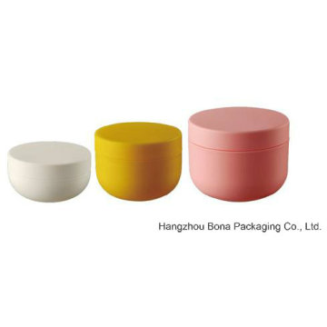Wholesale Double Wall Plastic Cosmetic Jar