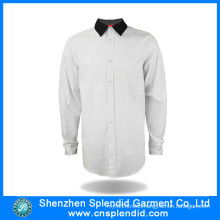 Latest Long Sleeve Cotton Work Formal Uniform Designs for Men