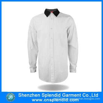 Custom Fashion Apparel Cotton Office Uniform Designs for Men