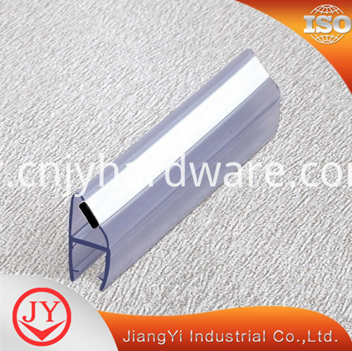 Magnetic 90 Degree Waterproof Pvc Glass Door Rubber Seal Strip