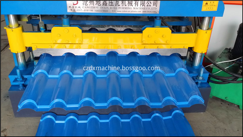 Glazed Tile Roll Forming Machine09